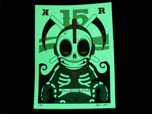 Kidrobot 15: Kidreaper Print by Andrew Bell