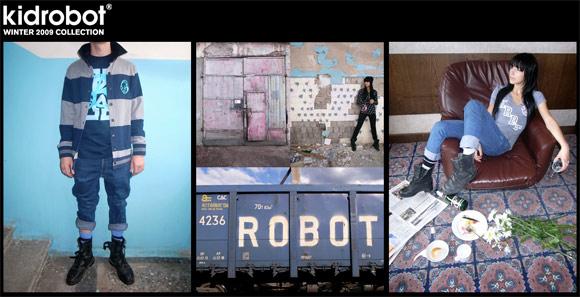 Kidrobot Winter Lookbook 2009