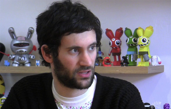 Jon Burgerman Interview at Kidrobot.
