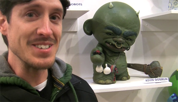 Kevin Gosselin at MUNNYWORLD in NYC