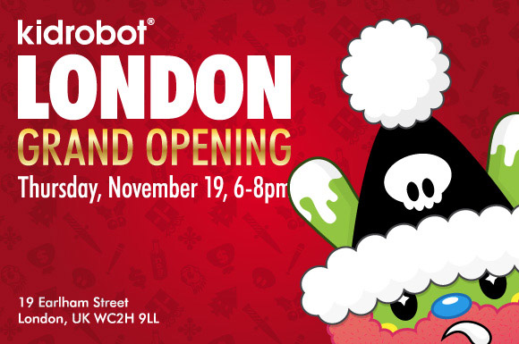 Kidrobot London Grand Opening Party