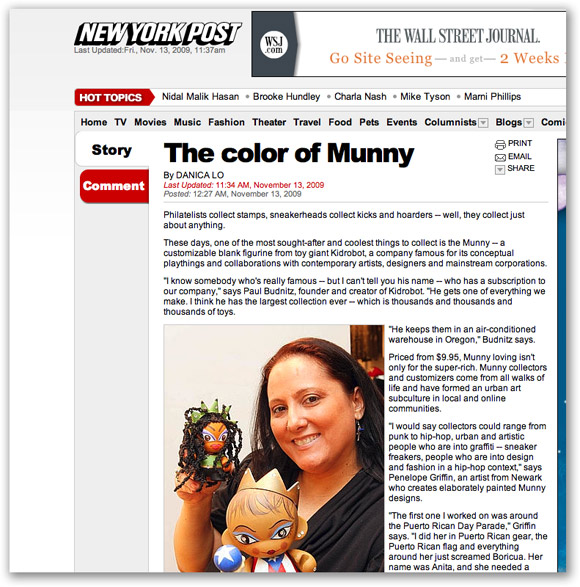 New York Post on MUNNY