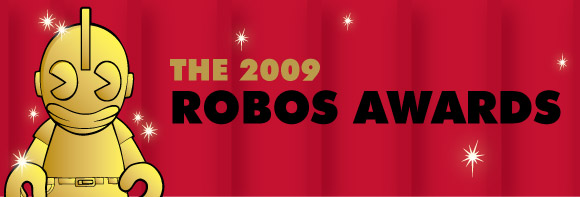 The Kidrobot 2009 Robos Awards Announcement
