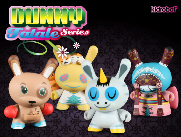 Dunny Fatale Series by Kidrobot
