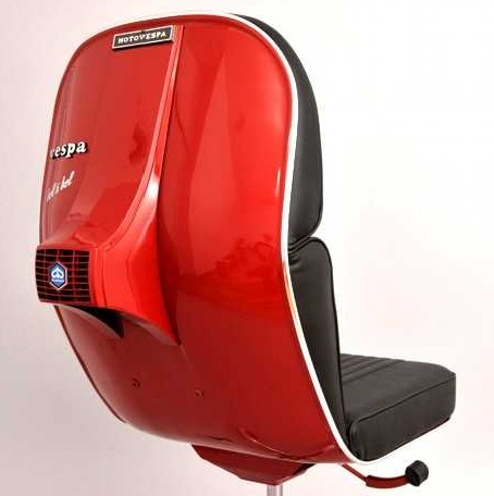 BV 08 Red Vespa Chair