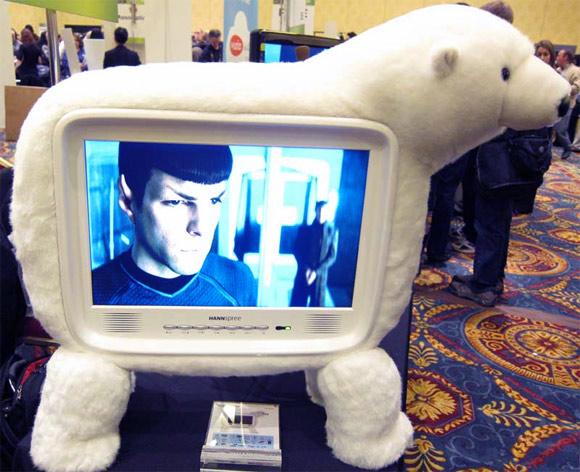 CES Polarbear TV