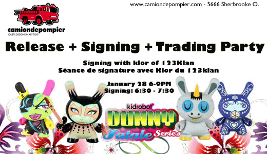 KLOR signing