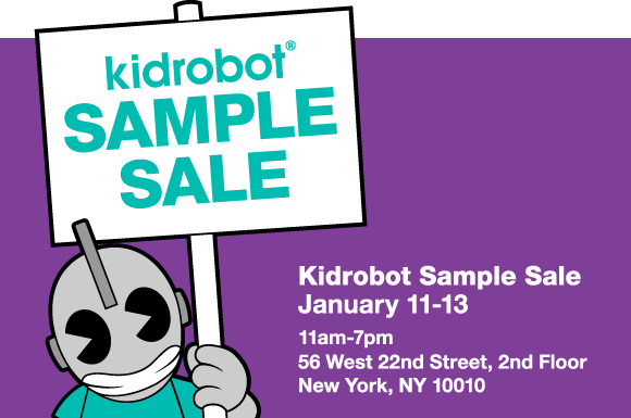NYC Sample Sale 1/11-1/13