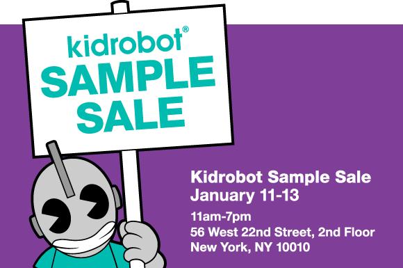 NYC Sample Sale 1/11-1/13