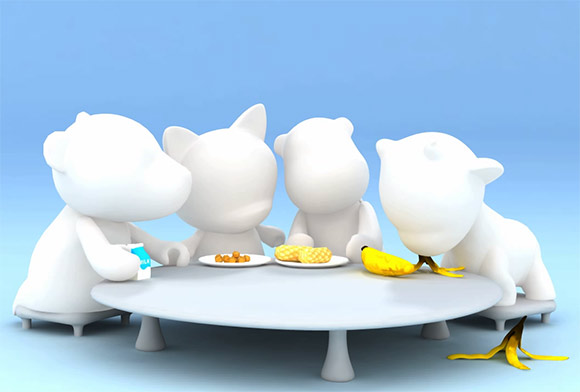 MUNNYWORLD Foodfight by Pratt Digital Animation students
