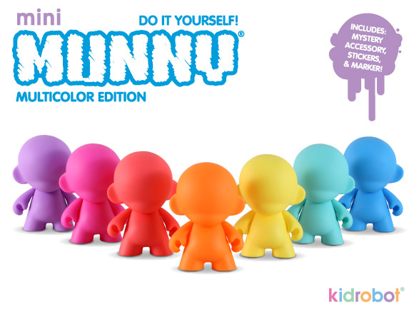 mini MUNNY Multicolor
