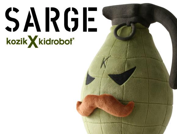 Sarge 14-Inch Plush by Frank Kozik