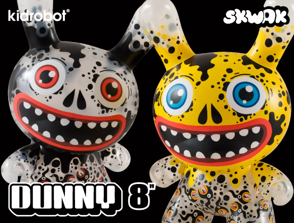 Oil Slick Dunny 8-Inch by SKWAK