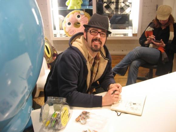 Brandt Peters Kathie Olivas KRNY Signing
