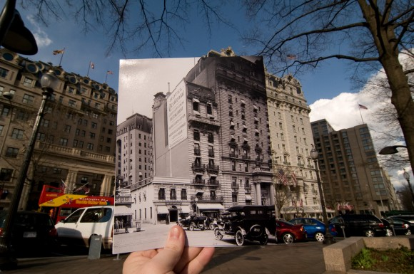 Willard Hotel Past and Present