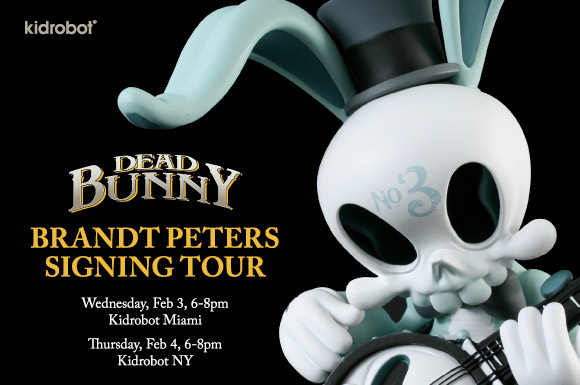 Dead Bunny Signing Tour with Brandt Peters