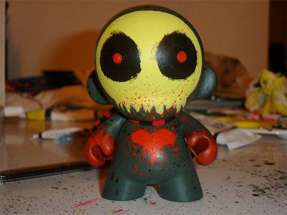 MUNNY by Kidrobot Forums Member, brownkidd