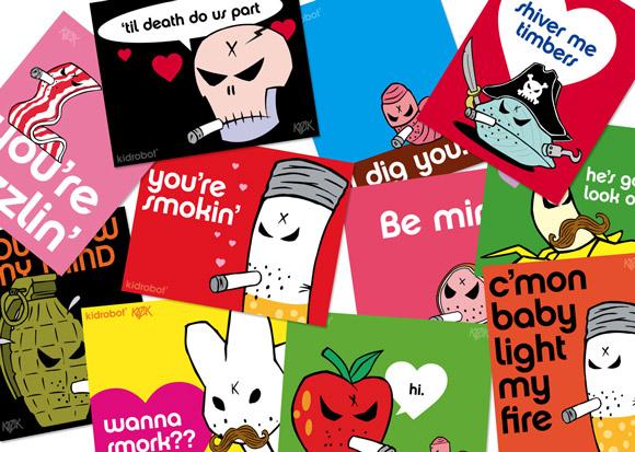 Valentines Day eCards by Frank Kozik