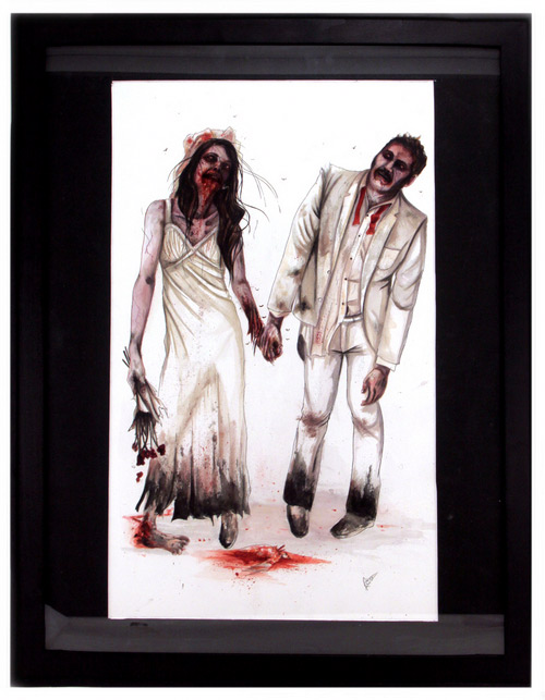 Zombies in Love exhibit in Los Angeles
