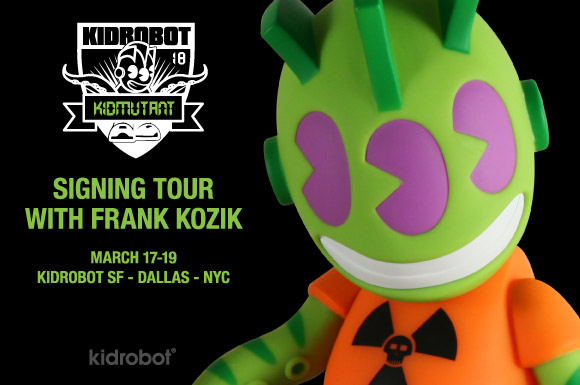 Kidmutant Frank Kozik signing tour