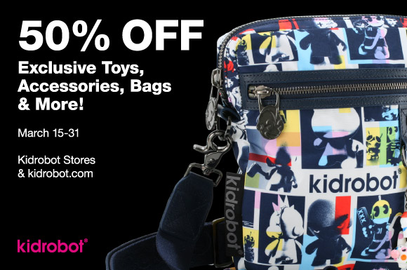 50% Off Toy, Accessories, Bags & More!