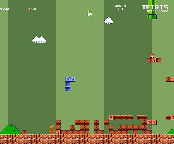 Tuper Tario Tros. - Super Mario Bros. x Tetris!