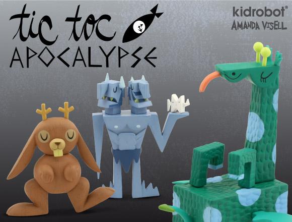 Tic Toc Apocalypse by Amanda Visell