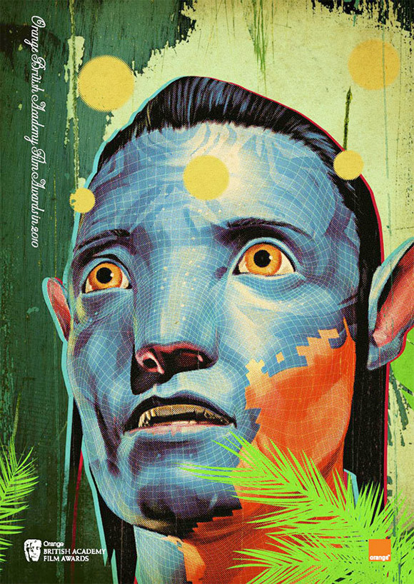 Avatar vintage style poster for BAFTA