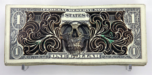 Scott Campbell Dollar art