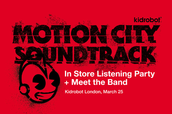 Motion City Soundtrack Signing at Kidrobot London