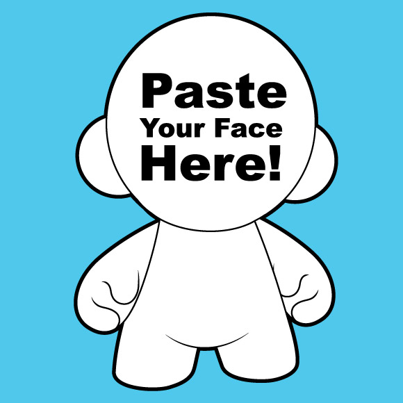 Munny Face Photo Paste Contest Kidrobot Blog