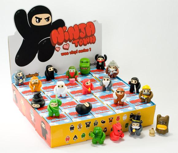ninjatown-vinyls