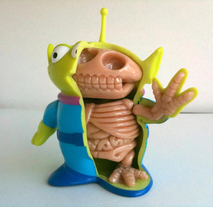 Custom Toy Anatomy By Moist Kidrobot Blog