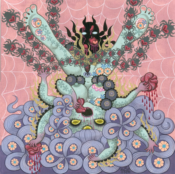 junko-mizuno-Flora-Delirium