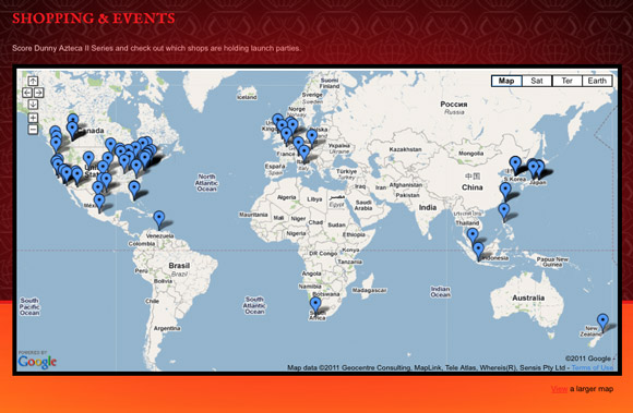 azteca-site-map