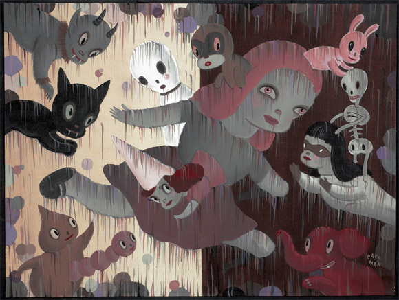 gary-baseman-walking-through-walls-1