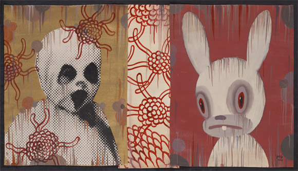 gary-baseman-walking-through-walls