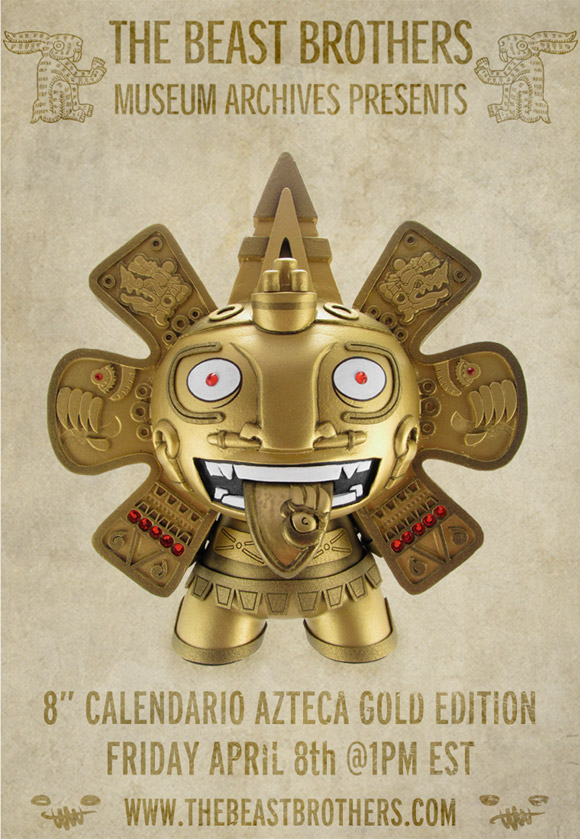 8'-golden-calendario-azteca-beast-brothers