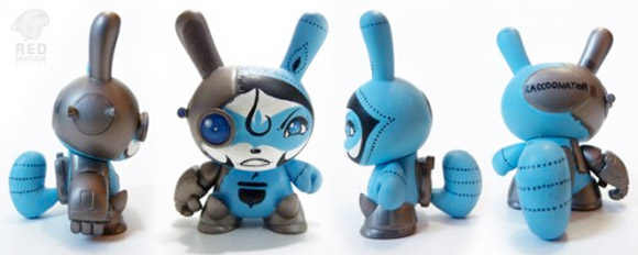 Custom Dunny Awesomeness By Red Mutuca Studios Kidrobot Blog