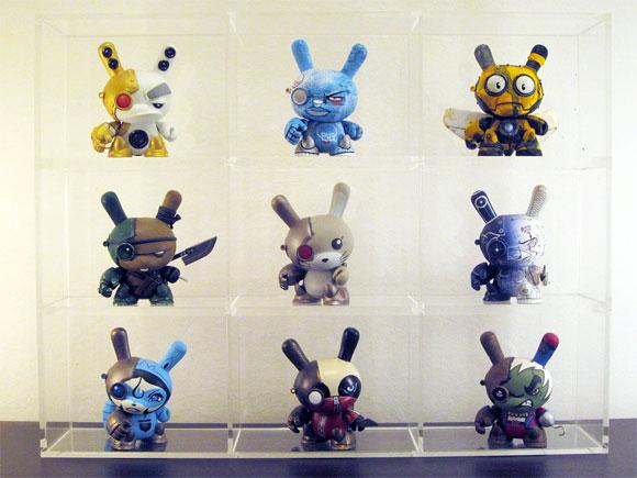 Liam Neill S Lavish Collection Of Custom Dunnys Kidrobot