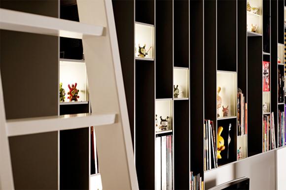 Dynamic Dunny Display Built Into Bookshelf Kidrobot Blog