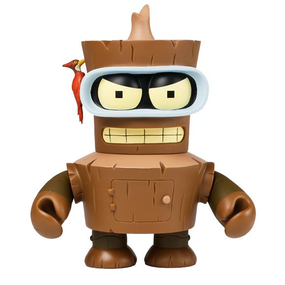 Product Preview Futurama Wooden Bender Kidrobot Blog