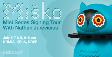 TONIGHT! Misko Mini Series 3-City Signing Tour With Nathan Jurevicius