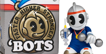 Product Preview - Kidrobot 'Bots Mini Faster, Higher, Stronger Edition
