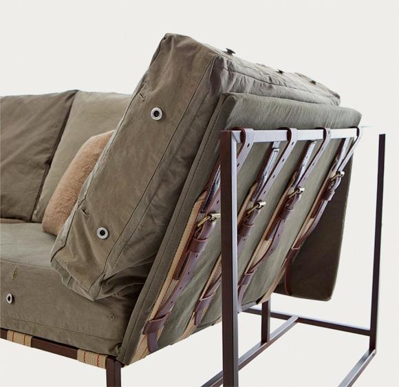 WWII Army Surplus Fabric Makes Great Furniture Kidrobot Blog