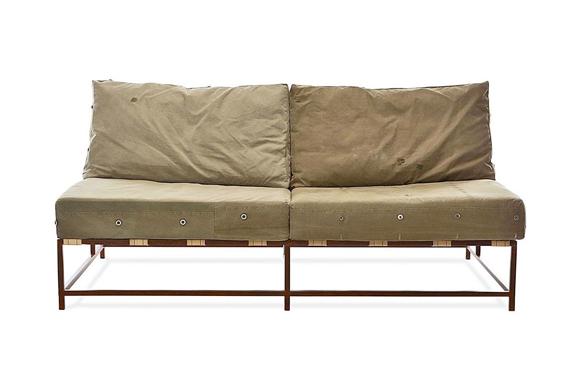 WWII Army Surplus Fabric Makes Great Furniture– Kidrobot