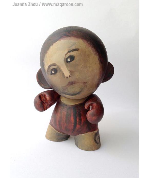 meme tastic munny pokes fun at failed fresco restoration kidrobot