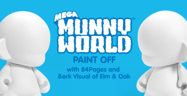 Mega MUNNYWORLD Paint Off With Berk Visual & 84Pages at KRBLDR