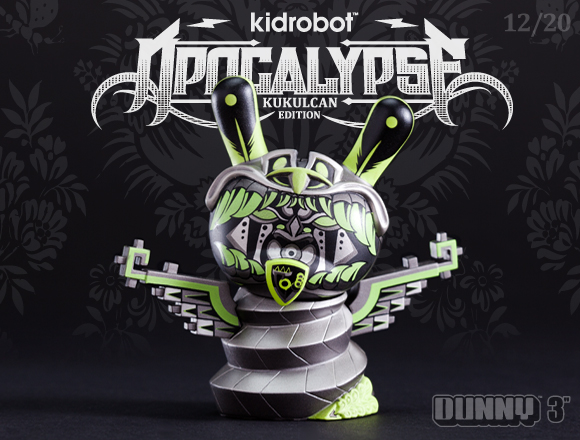 Apocalypse Dunny Series Kulkukan Shadow Edition Product Preview