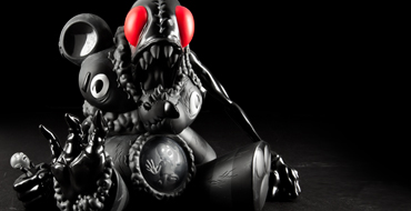 PRODUCT PREVIEW. Kidrobot Black x Alex Pardee